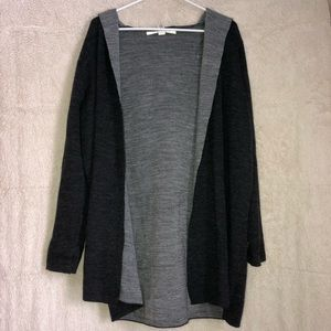 Sweaters - Cardigan with hood